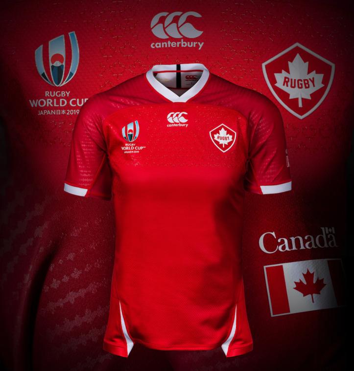 camiseta canada rwc 2019 rojo