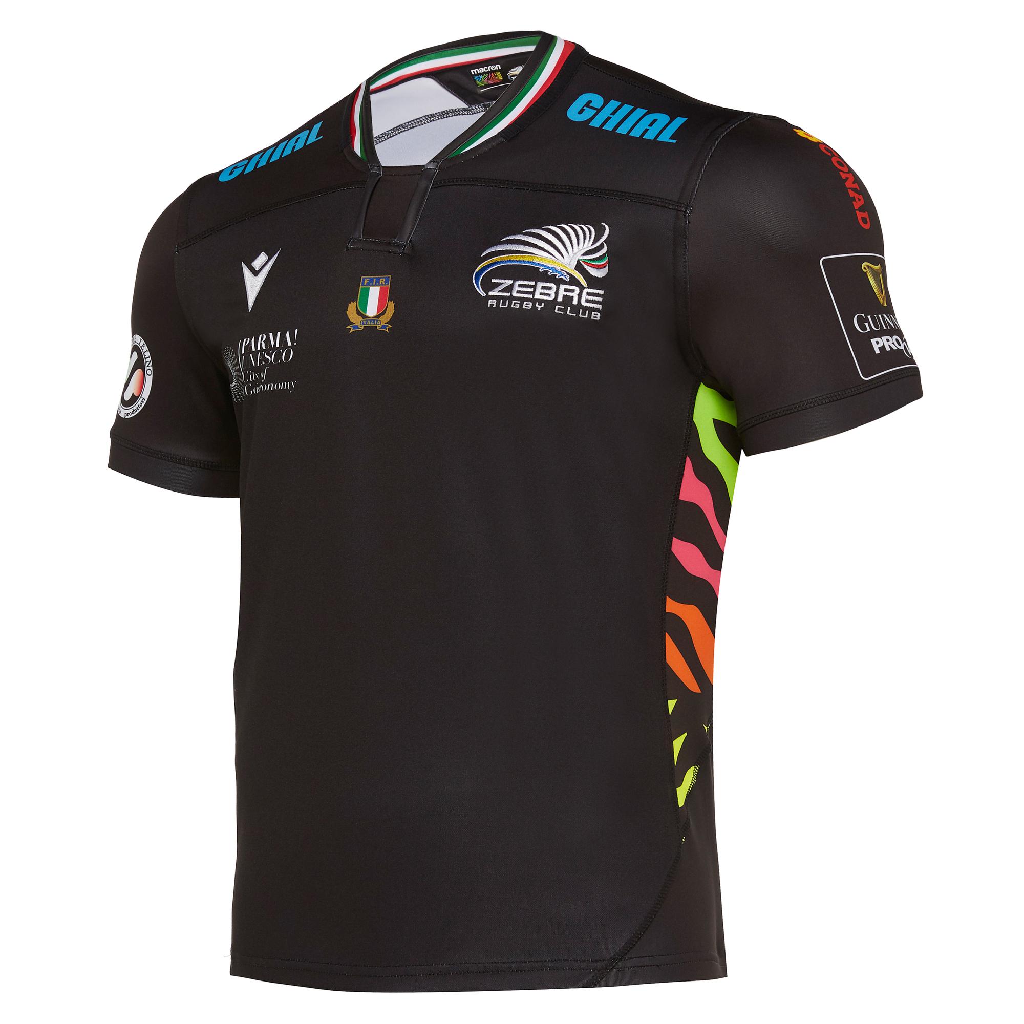 Camiseta Rugby Zebre 2019