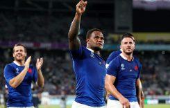 New France RWC Kits 2019- Camisetas francesas de la Copa Mundial de Rugby Le Coq Sportif Blanco Visitante