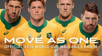 Nuevo Camiseta Wallabies RWC 2019- Australia Local & Segunda Indigenous RWC 2019