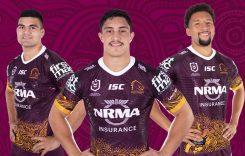 Camiseta NRL Rugby Brisbane Broncos 2019