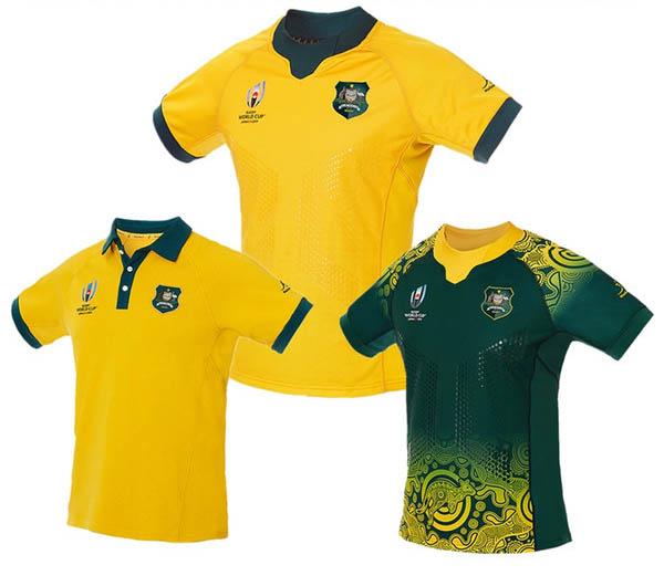 Camiseta Australia Rugby RWC 2019
