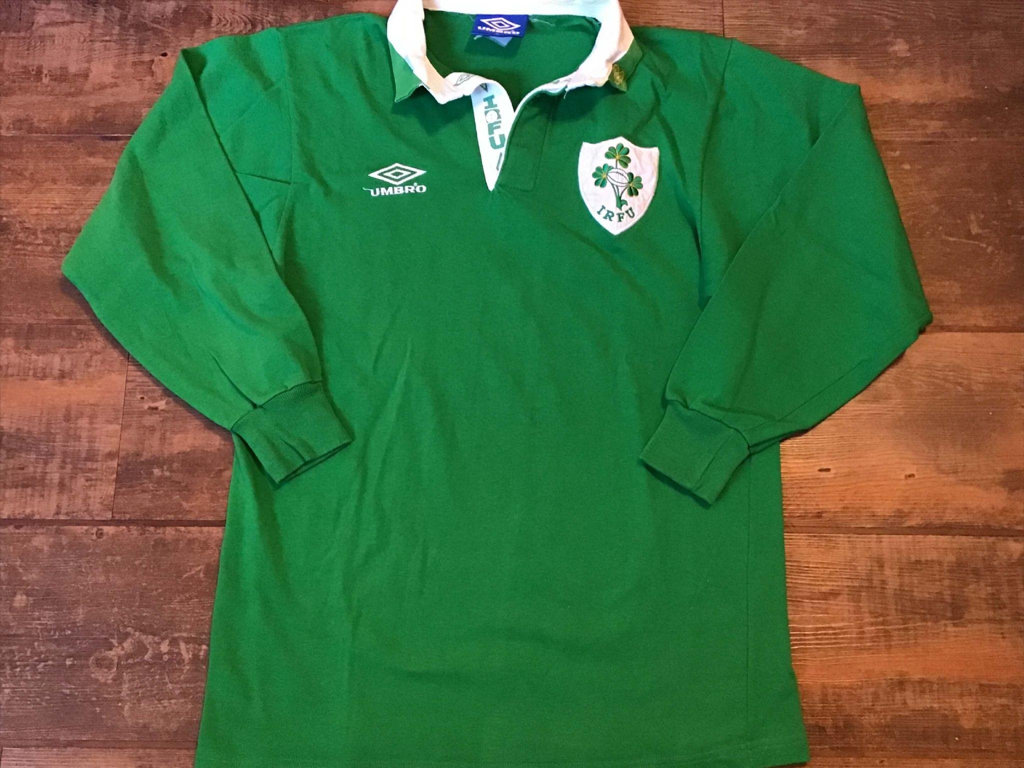 Camiseta de local de Umbro de Irlanda 1992-93