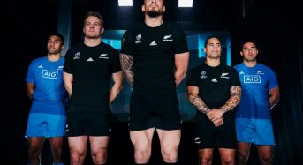 Camiseta All Blacks revelado para la Copa Mundial de Rugby 2019