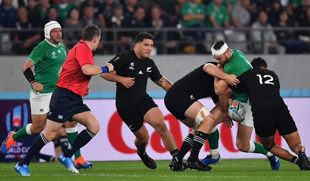New Zealand vs Ireland RWC 2019