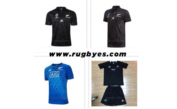 Camiseta All Black Rugby 2019