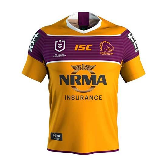 Camiseta Brisbane Broncos Rugby 2019 Segunda