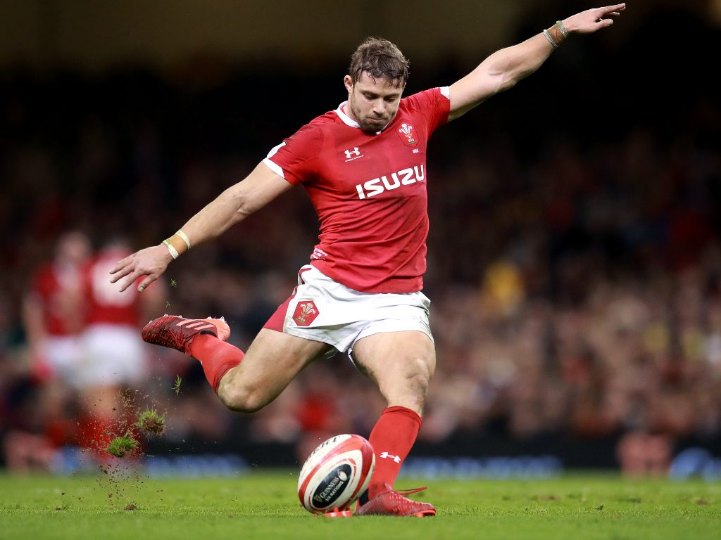Leigh Halfpenny Gales 2020