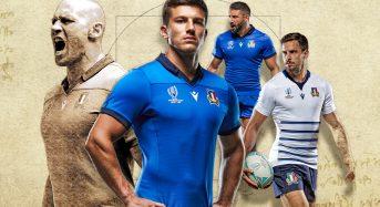 Italia lanza camisetas de la Copa Mundial de Rugby 2019