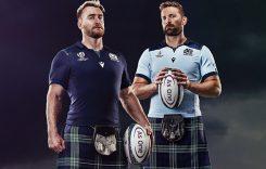 Se presentan las nuevas camisetas de la Copa Mundial de Rugby de Escocia 2019